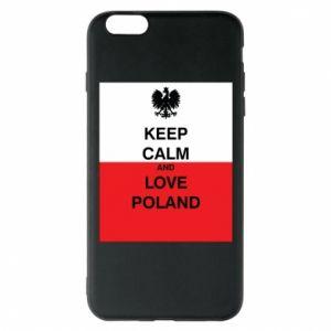 Etui na iPhone 6 Plus/6S Plus Polska flaga z napisem