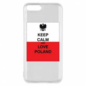 Etui na Xiaomi Mi6 Polska flaga z napisem