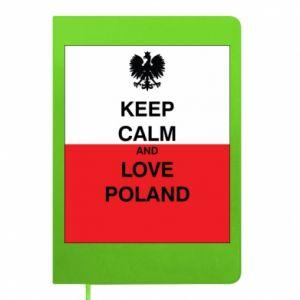 Notes Polska flaga z napisem
