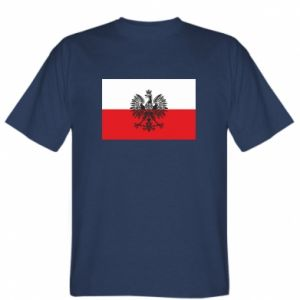 T-shirt Polish flag