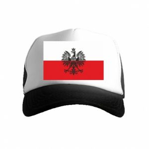 Kid's Trucker Hat Polish flag