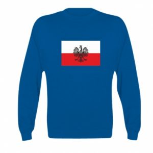 Kid's sweatshirt Polish flag