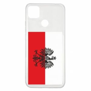 Xiaomi Redmi 9c Case Polish flag