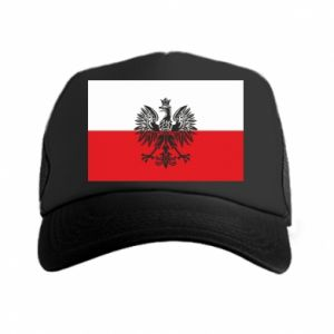 Trucker hat Polish flag