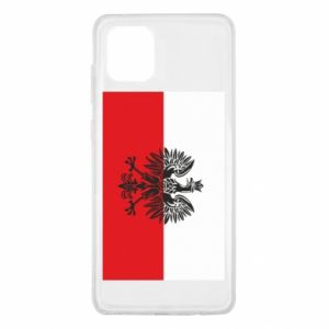 Samsung Note 10 Lite Case Polish flag