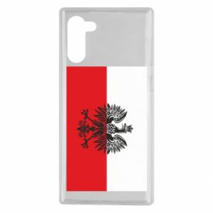Samsung Note 10 Case Polish flag