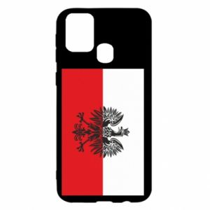 Samsung M31 Case Polish flag