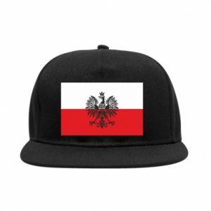 SnapBack Polish flag - PrintSalon