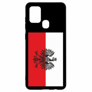 Samsung A21s Case Polish flag