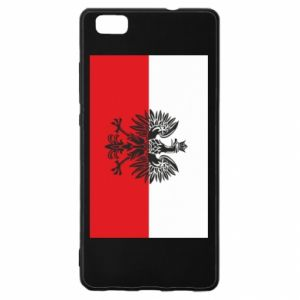 Huawei P8 Lite Case Polish flag