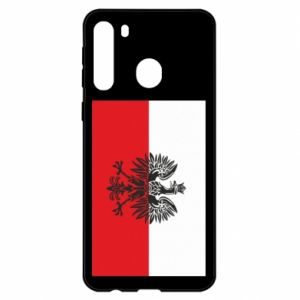 Samsung A21 Case Polish flag