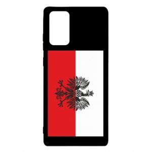 Samsung Note 20 Case Polish flag