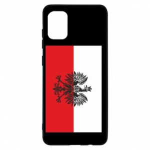 Samsung A31 Case Polish flag