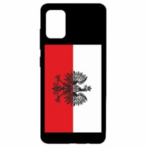 Samsung A51 Case Polish flag