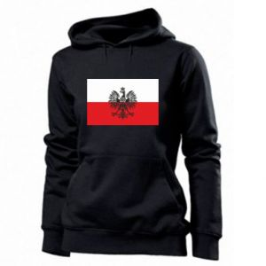 Women's hoodies Polish flag