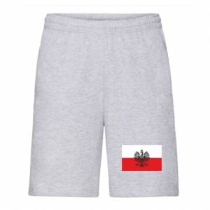 Men's shorts Polish flag