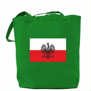 Bag Polish flag