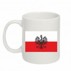 Kubek 330ml Polska flaga - PrintSalon
