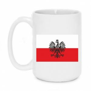 Kubek 450ml Polska flaga - PrintSalon