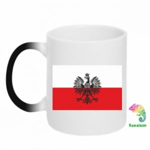 Magic mugs Polish flag