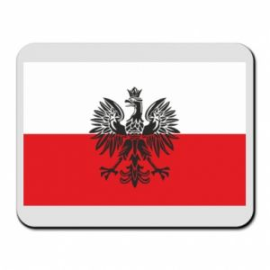 Mouse pad Polish flag