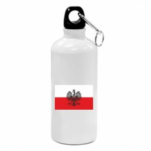 Water bottle Polish flag