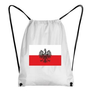 Backpack-bag Polish flag