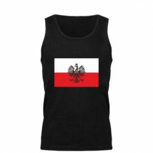 Men's t-shirt Polish flag - PrintSalon