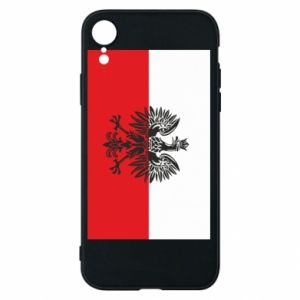 iPhone XR Case Polish flag