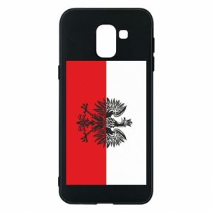 Samsung J6 Case Polish flag
