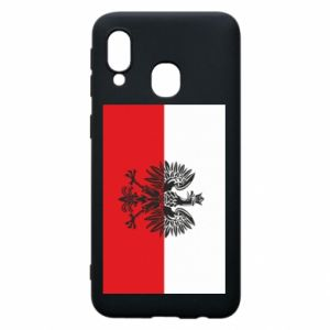 Samsung A40 Case Polish flag
