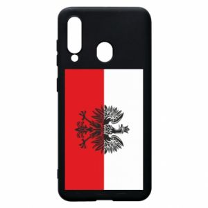 Samsung A60 Case Polish flag