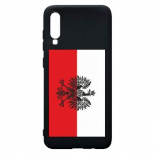 Samsung A70 Case Polish flag