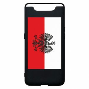 Samsung A80 Case Polish flag