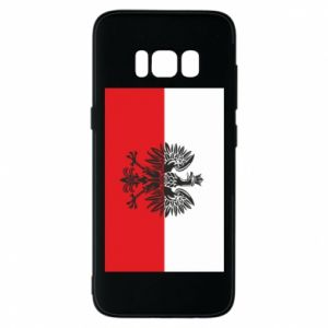 Samsung S8 Case Polish flag