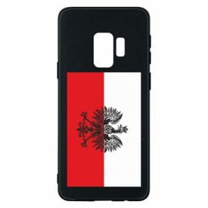 Samsung S9 Case Polish flag