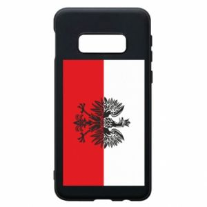 Samsung S10e Case Polish flag