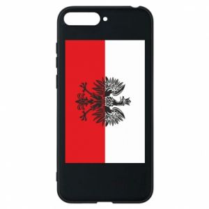 Huawei Y6 2018 Case Polish flag