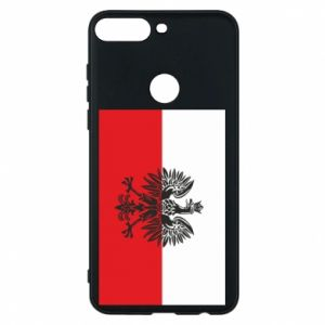 Huawei Y7 Prime 2018 Case Polish flag