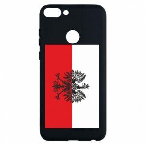 Phone case for Huawei P Smart Polish flag - PrintSalon