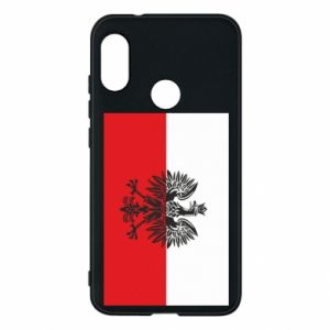 Mi A2 Lite Case Polish flag