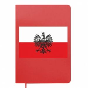 Notepad Polish flag
