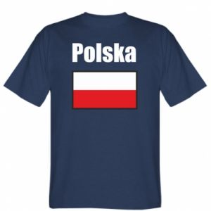 T-shirt Poland and flag