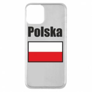 Etui na iPhone 11 Polska i flaga