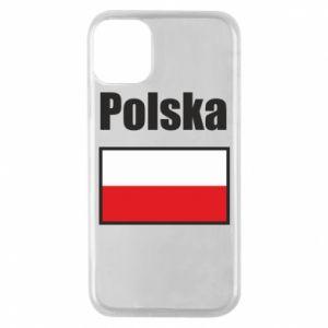 Etui na iPhone 11 Pro Polska i flaga