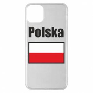 Etui na iPhone 11 Pro Max Polska i flaga