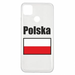 Etui na Xiaomi Redmi 9c Polska i flaga