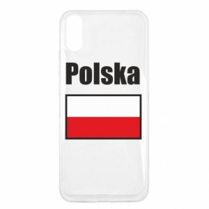 Xiaomi Redmi 9a Case Poland and flag