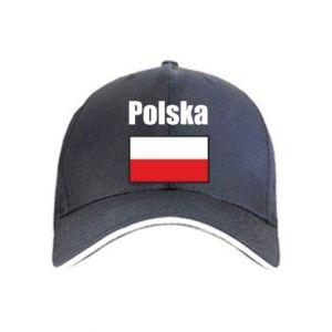 Czapka Polska i flaga