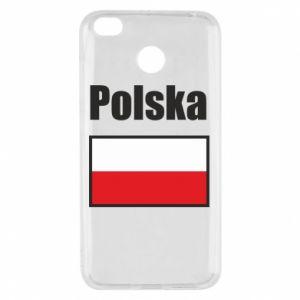 Etui na Xiaomi Redmi 4X Polska i flaga